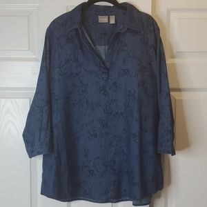 Chico's Jean Shirt